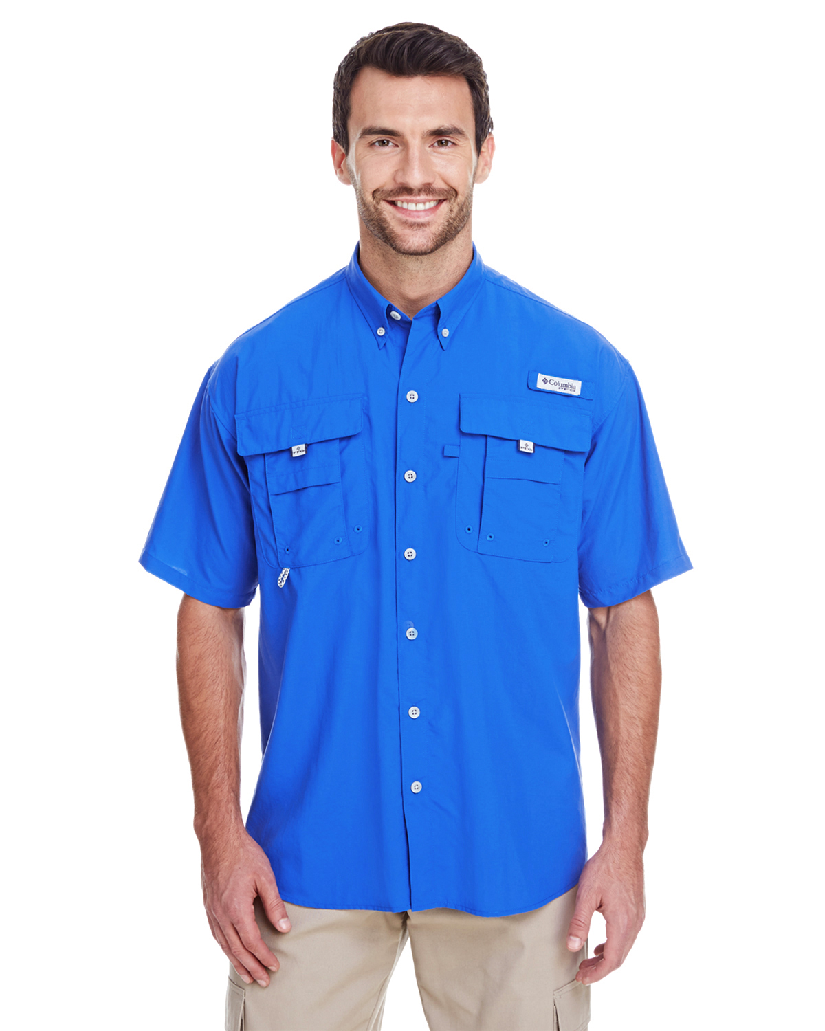 CLUB-7047 Columbia Men's Bahama™ II Short-Sleeve Shirt