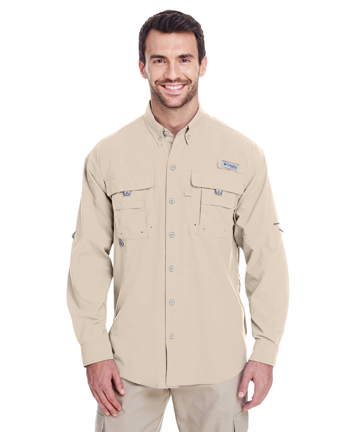 VCL-7048 Columbia Men's Bahama™ II Long-Sleeve Shirt
