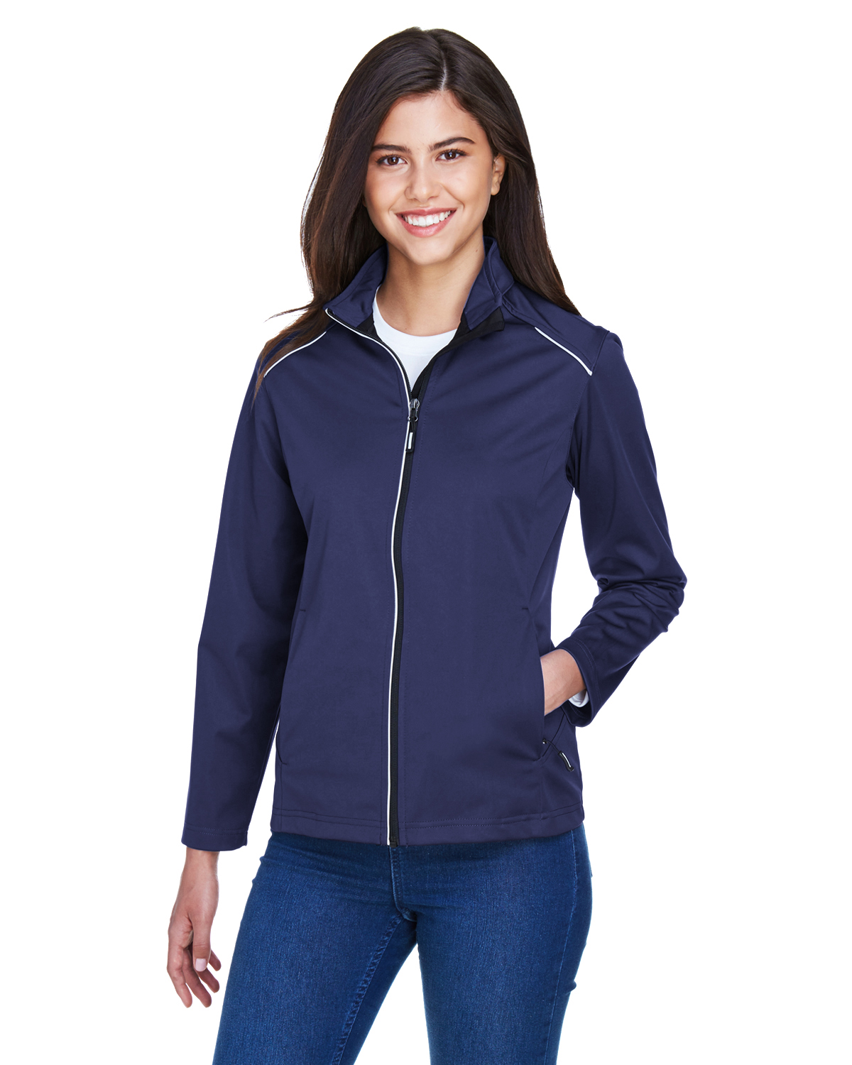 MAS-CE708W Core 365 Ladies' Techno Lite Three-Layer Knit Tech-Shell