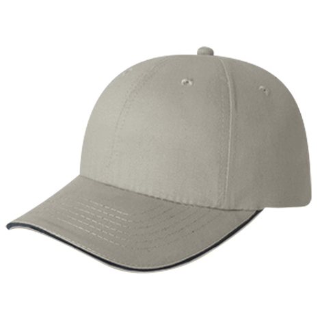 5D780M 6 Panel Ball Cap Sandwich Peak