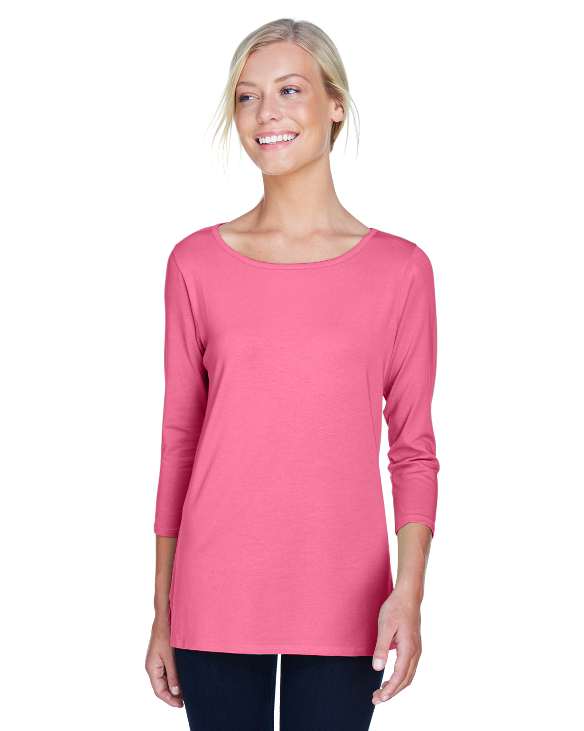 DP192W  LADIES' 3/4 SLEEVE BRACELET TOP