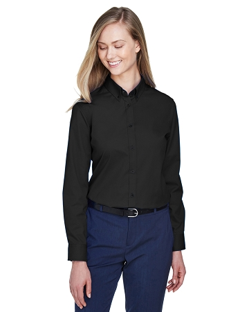 VCL-78193 Core 365 Ladies' Operate Long-Sleeve Twill Shirt