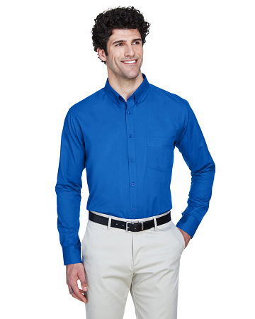 TTC-CLUB- 88193 Core 365 Men's Operate Long-Sleeve Twill Shirt