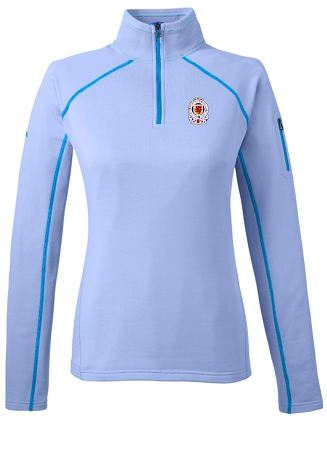 89610 LADIES' MARMOT 1/2 ZIP STRETCH FLEECE