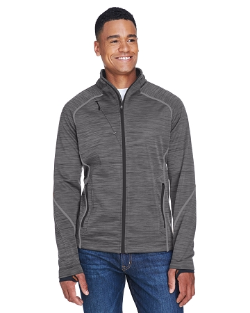 88697 MEN'S BONDED FLEECE JACKET FLUX MALANGE