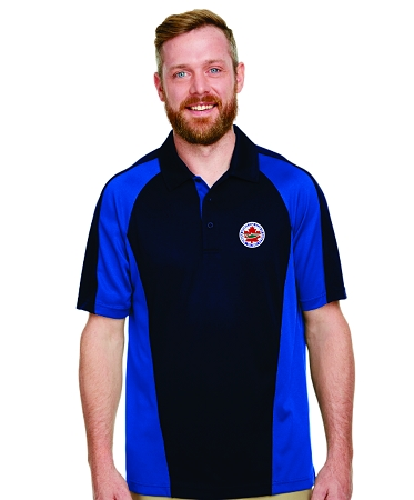 M385 Men's Colour Block Polo