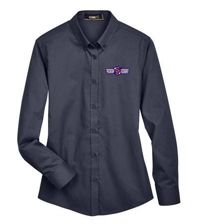 78193 Core 365 Ladies' Operate Long-Sleeve Twill Shirt