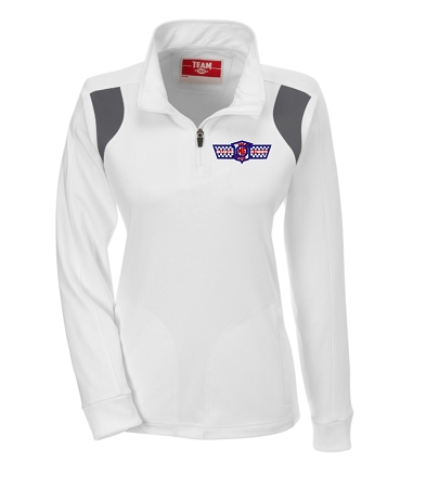 TT32W LADIES' 1/4 ZIP
