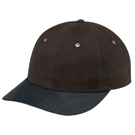 9C750/8M Ball Cap Waxed Cotton Oil Skin Cap