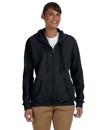 VCL-G186FL Gildan Ladies' Heavy Blend™ 13.3 oz./lin. yd., 50/50 Full-Zip Hood