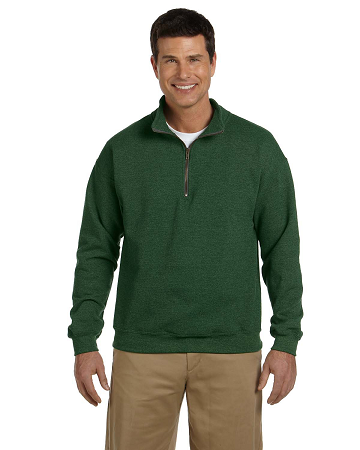 G188 Gildan Heavy Blend™ Adult 13.3 oz./lin. yd. Vintage Cadet Collar Sweatshirt