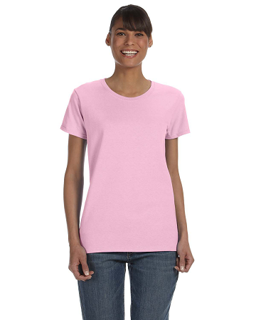 TTC-CLUB-G500L Ladies' Gildan 100% Cotton T-shirt *