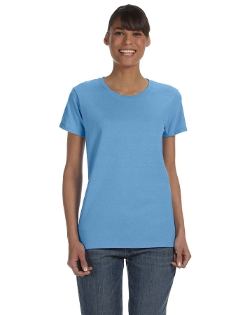 G500L Gildan Ladies' Heavy Cotton 8.8 oz Short Sleeve T-Shirt