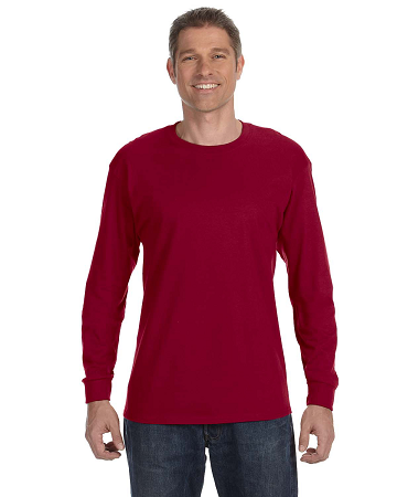 CLUB-G540 Gildan Adult Heavy Cotton™ 8.8 oz./lin. yd. Long-Sleeve T-Shirt