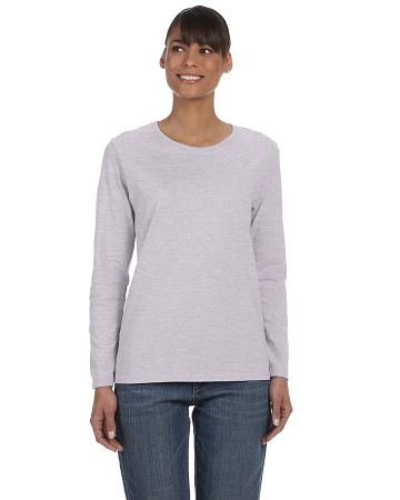 CLUB-G540L Gildan Ladies' Heavy Cotton™ 8.8 oz./lin. yd. Long-Sleeve T-Shirt