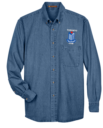 M550 MEN'S LONG SLEEVE DENIM SHIRT