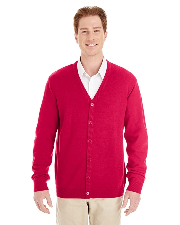 M425 MEN'S BUTTON DOWN PILBLOC CARDIGAN
