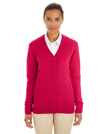 M425W LADIES' BUTTONDOWN PILBLOC CARDIGAN