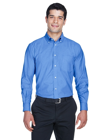 M600 MEN'S LONG SLEEVE OXFORD BUTTON DOWN SHIRT