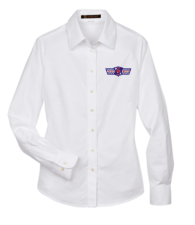 M600W LADIES' LONG SLEEVE OXFORD BUTTON DOWN SHIRT