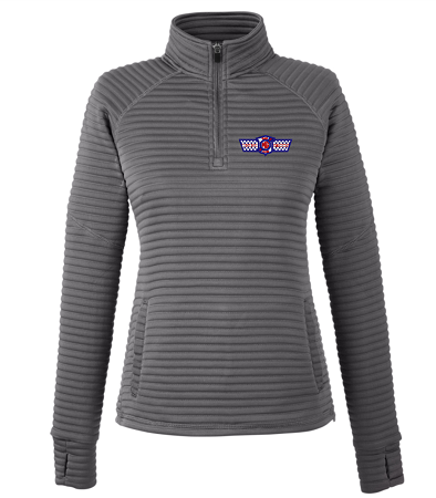 S16639 LADIES' SPYDER CAPTURE 1/4 ZIP FLEECE