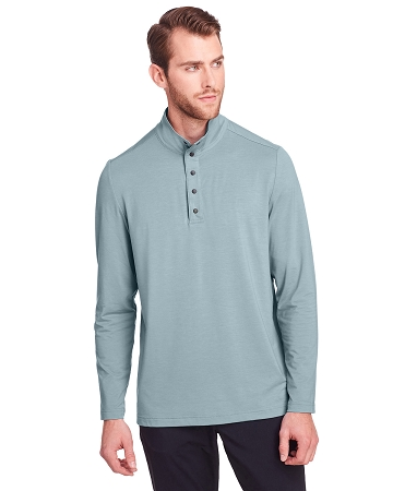 NE400 MEN'S JAQ SNAP UP STRETCH PERFORMANCE PULLOVER
