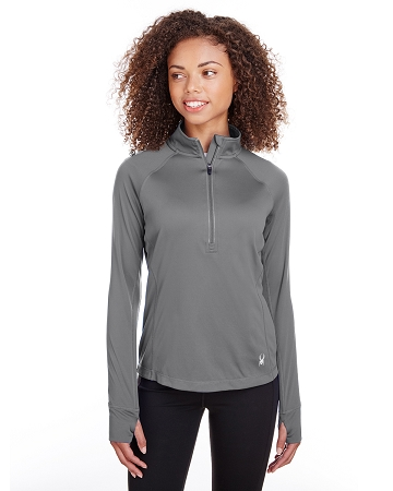 S16798 LADIES' SPYDER FREESTYLE 1/2 ZIP