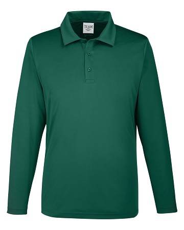 TT51L Men's Performance Long Sleeve Polo